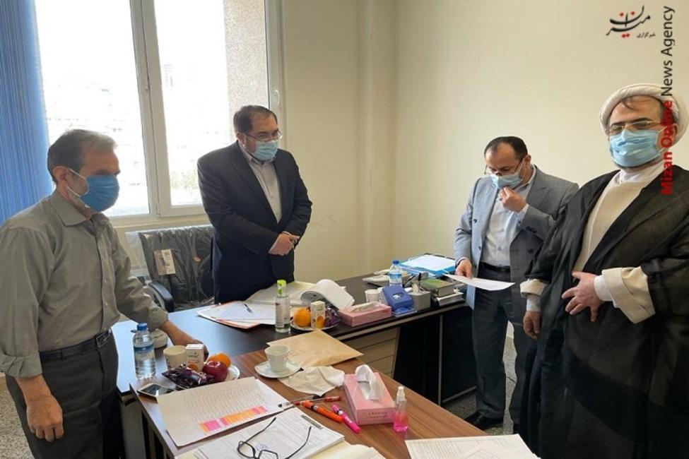 بازدید معاون نظارت و بازرسی دادگستری استان تهران از مجتمع قضایی خانواده ۲