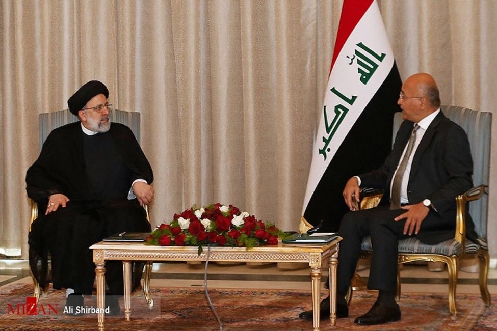 آیت الله رئیسی:مسئله لغو روادید برای سفر به عراق از اقداماتی است که در تسهیل فرآیند زیارت نقش بسزایی خواهد داشت/ برهم صالح: عراق مستقل و دارای حاکمیت میتواند همپیمان و تکیه گاهی برای ایران باشد