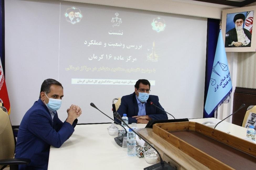 ۶۵ تا ۷۰ درصد زندانیان استان کرمان مربوط به مواد مخدر هستند