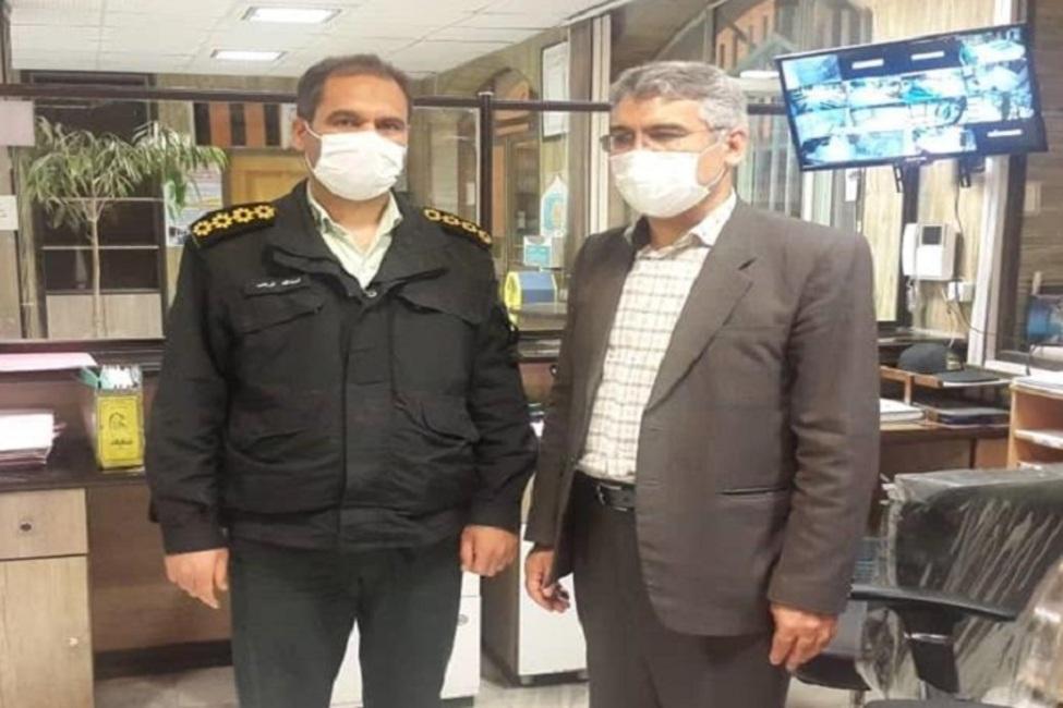 تقدیر رئیس سازمان قضایی نیروهای مسلح اصفهان از برخورد قانونمندانه مأموران یک کلانتری با سارق