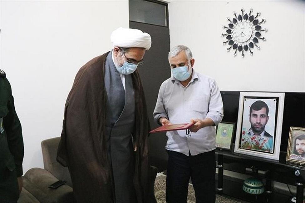 قدردانی رئیس سازمان قضایی نیروهای مسلح مازندران از سربازان گمنام امام زمان (عج)