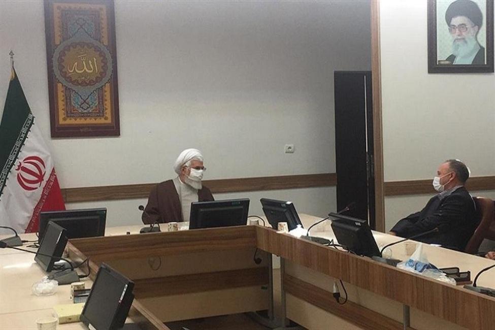استقبال نماینده ولی فقیه و رئیس کل دادگستری زنجان از طرح همراه با حافظان امنیت