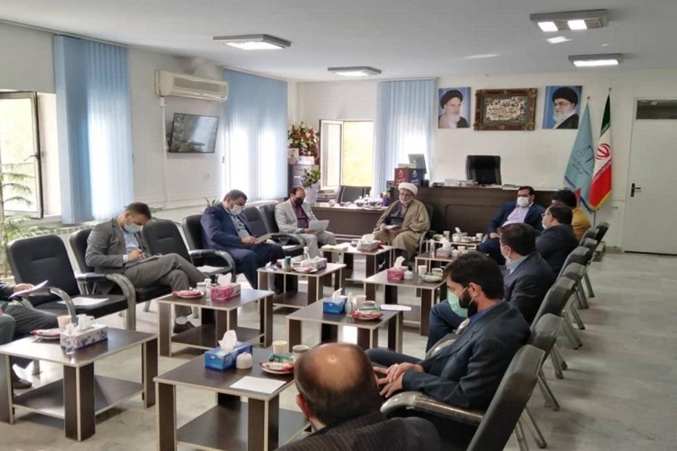 برگزاری اولین جلسه ستاد پیشگیری و رسیدگی به جرایم و تخلفات انتخابات شهرستان رباط کریم
