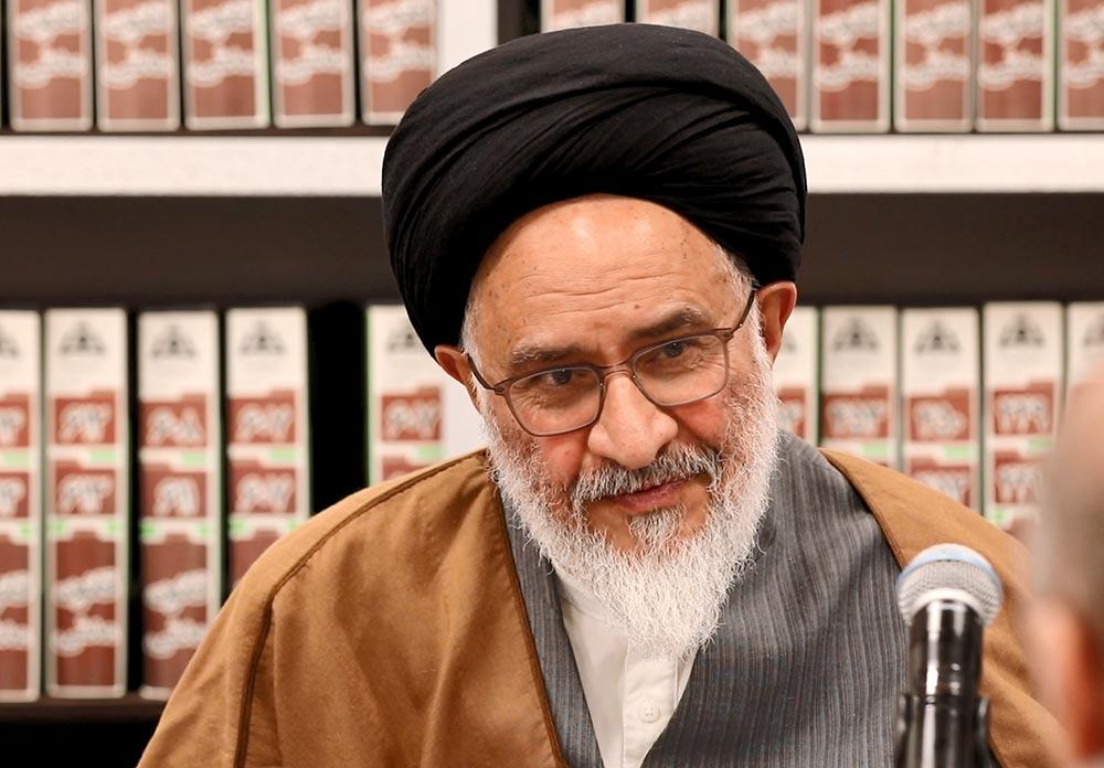 نظر آیت الله دکتر محقق داماد در خصوص شرکت در انتخابات