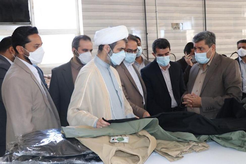 بازدید رئیس کل دادگستری استان سیستان و بلوچستان از خط تولید چند کارخانه در شهرک صنعتی زاهدان