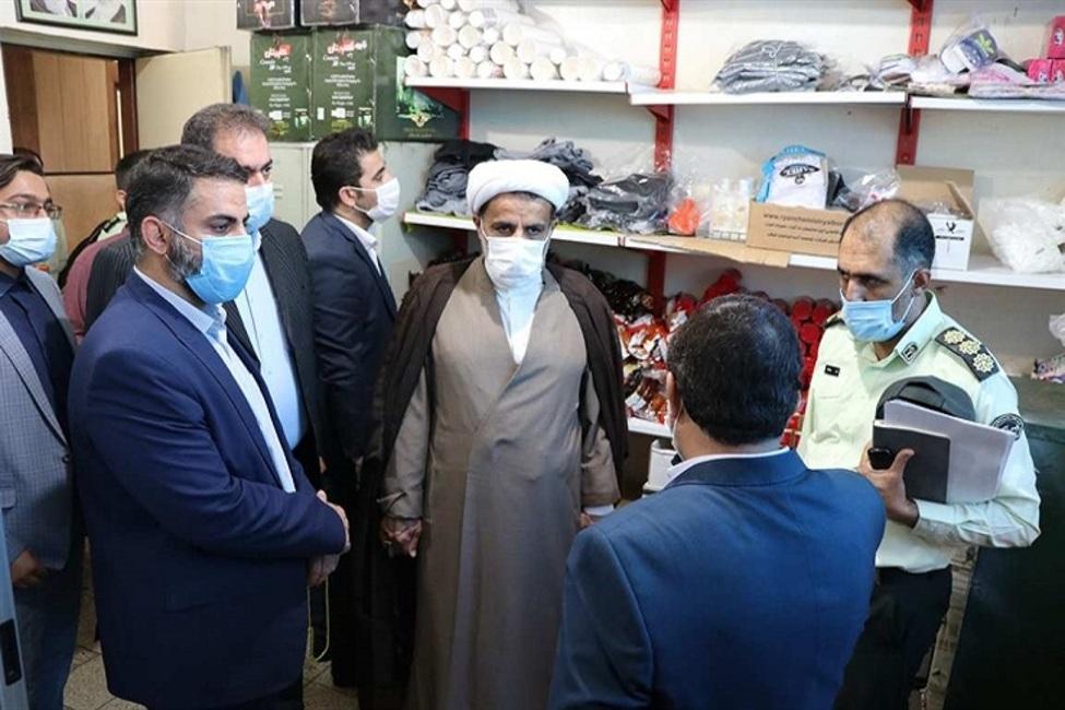 بازدید معاون نظارت بر ضابطین دادستانی تهران از بازداشتگاههای نیروی انتظامی