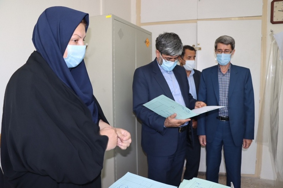 بازدید رئیس کل دادگستری آذربایجان غربی از مجتمع شورای حل اختلاف ارومیه