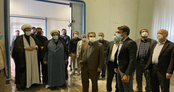 بازدید رئیس کل دادگستری استان همدان از ۳ شرکت تولیدی در استان
