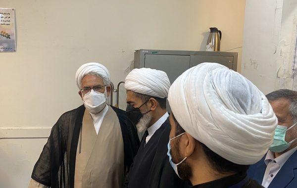 بازدید دادستان کل کشور از شورای حل اختلاف منطقه ۱۰